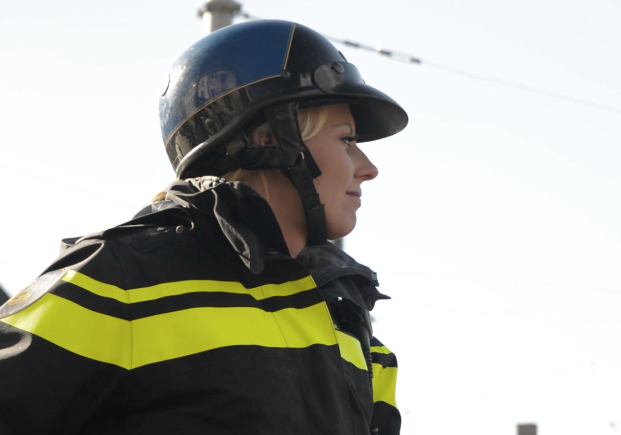 Support Coach van de maand: Bereden politie Anja Faas